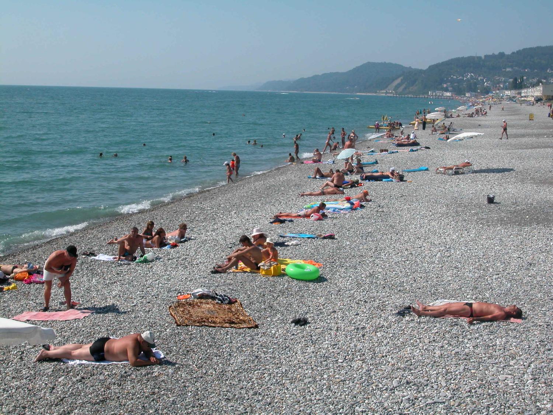 Дикие пляжи лазаревского фото